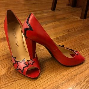 """Marc by Marv Jacobs star studded 4""""  Heels"""